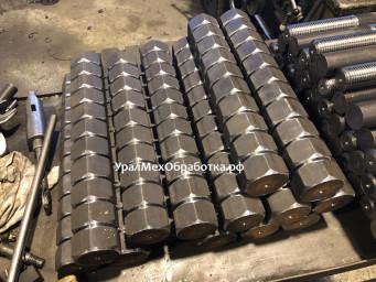 Производство Гайки М42, сталь 09Г2С