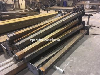 Изготовление стальной стойки