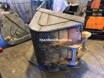 Изготовление ковша экскаватора